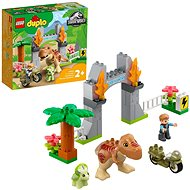 LEGO® DUPLO® Jurassic World™ 10939 T-Rex a Triceratops na útěku