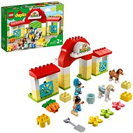 LEGO DUPLO Town 10951 Horse Stable and Pony Care - LEGO Building Kit