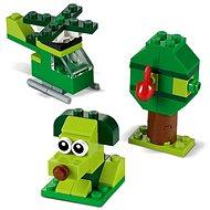 LEGO Classic 11007 Zelené kreativní kostičky - Stavebnice