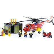 LEGO City 60108 Hasiči, Hasičská zásahová jednotka - Stavebnice