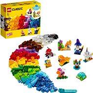 LEGO Classic 11013 Průhledné kreativní kostky - LEGO stavebnice