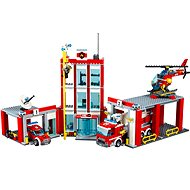 LEGO City 60110 Hasiči, Hasičská stanice - Stavebnice