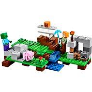 LEGO Minecraft 21123 Železný golem - Stavebnice