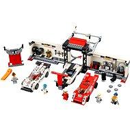 LEGO Speed Champions 75876 Porsche 919 Hybrid a 917K ulička v boxech - Stavebnice