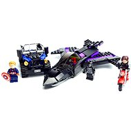 LEGO Super Heroes 76047 Pronásledování černého pantera - Stavebnice