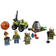 LEGO City 60120 Sopeční průzkumníci, Sopečná startovací sada - Stavebnice