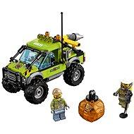 LEGO City 60121 Sopeční průzkumníci, Sopečné průzkumné vozidlo - Stavebnice
