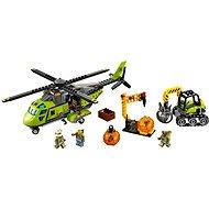 LEGO City 60123 Sopeční průzkumníci, Sopečná zásobovací helikoptéra - Stavebnice