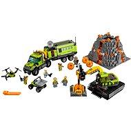 LEGO City 60124 Sopeční průzkumníci, Sopečná základna průzkumníků - Stavebnice