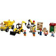 LEGO Juniors 10734 Demoliční práce na staveništi - Stavebnice