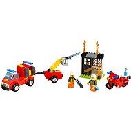 LEGO Juniors 10740 Kufřík hasičské hlídky - Stavebnice