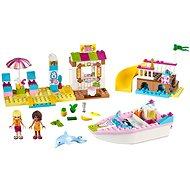 LEGO Juniors 10747 Andrea a Stephanie na dovolené na pláži - Stavebnice
