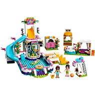 LEGO Friends 41313 Letní bazén v městečku Heartlake - Stavebnice