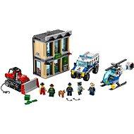 LEGO City 60140 Vloupání buldozerem - Stavebnice