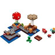 LEGO Minecraft 21129 Ostrov hub - Stavebnice