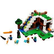 LEGO Minecraft 21134 Základna ve vodopádu - Stavebnice