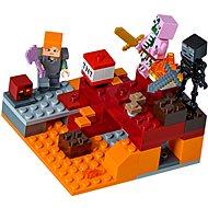 LEGO Minecraft 21139 Podzemní souboj - Stavebnice