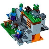 LEGO Minecraft 21141 Jeskyně se zombie - Stavebnice