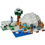 LEGO Minecraft 21142 Iglú za polárním kruhem - Stavebnice