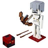 LEGO Minecraft 21150 Minecraft velká figurka: Kostlivec s pekelným slizem - Stavebnice
