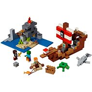 LEGO Minecraft 21152 The Pirate Ship Adventure - LEGO Building Kit
