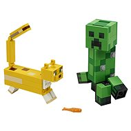 LEGO Minecraft  21156 BigFig Creeper™ and Ocelot - LEGO Building Kit