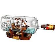 LEGO Ideas 21313 Loď v láhvi - Stavebnice
