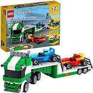 LEGO Creator 31113 Kamion pro přepravu závodních aut - LEGO stavebnice