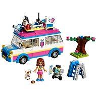 LEGO Friends 41333 Olivia a její speciální vozidlo - Stavebnice