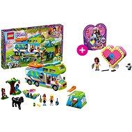 LEGO Friends 41339 Mia a její karavan a LEGO 41357 Oliviina srdcová krabička