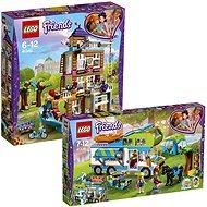 LEGO Friends 41340 Dům přátelství + LEGO Friends 41339 Mia a její karavan - Herní set