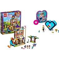 LEGO Friends 41340 Dům přátelství a LEGO Stephanina srdcová krabička