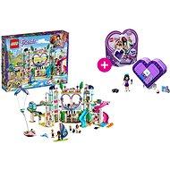 LEGO Friends 41347 Resort v městečku Heartlake a LEGO 41355 Emmina srdcová krabička