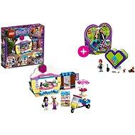 LEGO Friends 41366 Olivia a kavárna s dortíky a LEGO 41358 Miina srdcová krabička