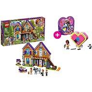 LEGO Friends 41369 Mia a její dům a LEGO 41357 Oliviina srdcová krabička