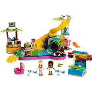 LEGO Friends 41374 Andrea a party u bazénu - Stavebnice