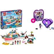 LEGO Friends 41381 Záchranný člun a LEGO 41355 Emmina srdcová krabička