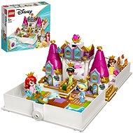 LEGO® Disney Princess™ 43193 Ariel, Kráska, PopelkaaTianaa jejich pohádková kniha dobrodružství - LEGO stavebnice