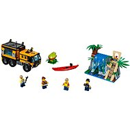 LEGO City Jungle Explorers 60160 Mobilní laboratoř do džungle - Stavebnice