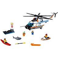 LEGO City Coast Guard 60166 Výkonná záchranářská helikoptéra - Stavebnice