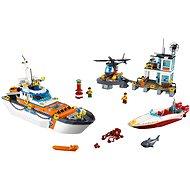 LEGO City Coast Guard 60167 Základna pobřežní hlídky - Stavebnice
