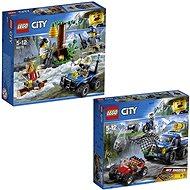 LEGO City 60171 Zločinci na útěku v horách + LEGO City 60172 Honička v průsmyku