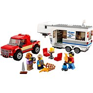 LEGO City 60182 Pick-up a karavan - Stavebnice