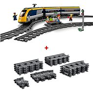 LEGO City Trains 60197 Osobní vlak a City Trains 60205 Koleje