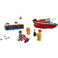 LEGO City 60213 Požár v přístavu - LEGO stavebnice
