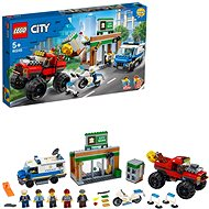 LEGO City Police 60245 Loupež s monster truckem - LEGO stavebnice