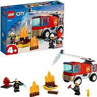 LEGO City 60280 Hasičské auto s žebříkem - LEGO stavebnice