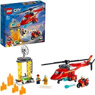 LEGO City 60281 Hasičský záchranný vrtulník - LEGO stavebnice