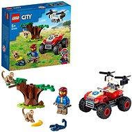 LEGO® City 60300 Záchranářská čtyřkolka do divočiny
