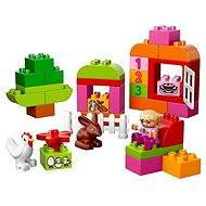 LEGO DUPLO 10571 Růžový box plný zábavy - Stavebnice